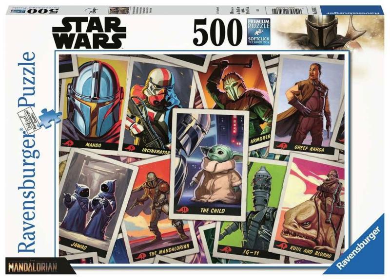 Star Wars The Mandalorian Jigsaw Puzzle