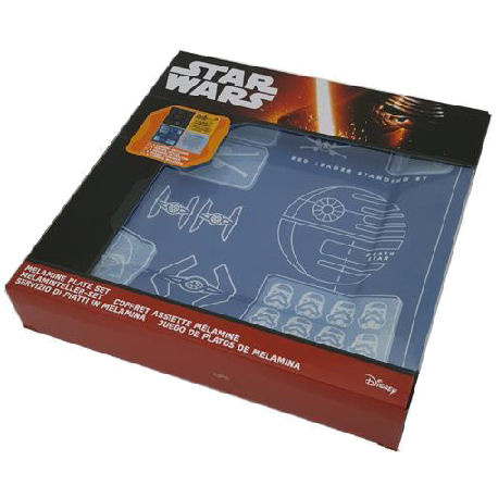 Star Wars Borden Plate Set Blue Prints