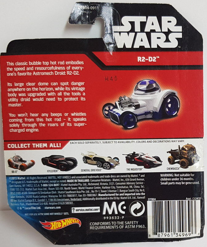 Star Wars Hot Wheels - R2-D2