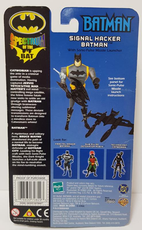 Batman Spectrum of the bat - Signal hacker Batman