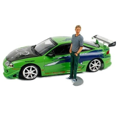 Mitsubishi Eclipse met Brian Figuur Fast And The Furious
