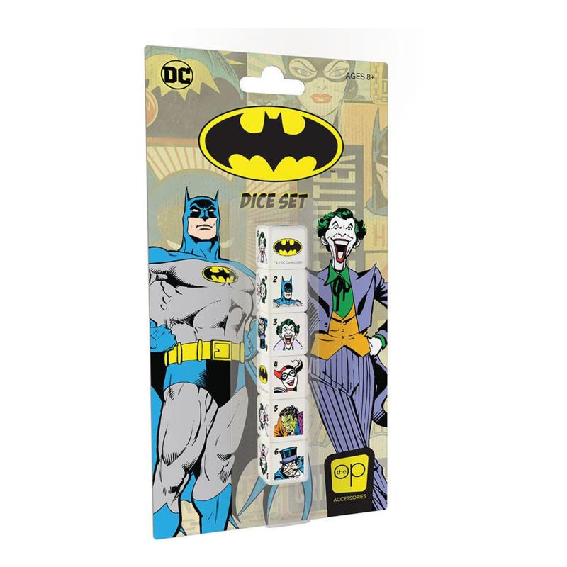 Batman Dobbelstenen 6xD6