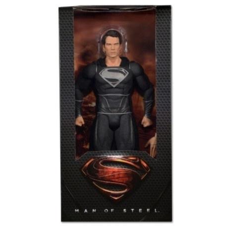 Superman Man Of Steel Zwart 45 cm Schaalmodel