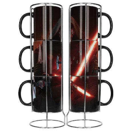 Star Wars: The Force Awakens Kylo Ren mug set