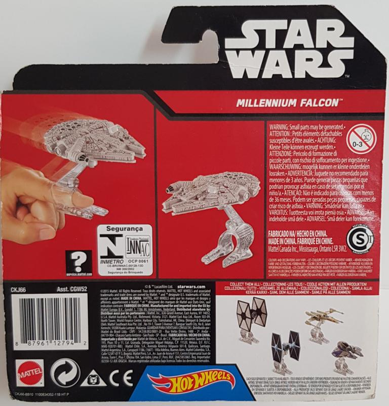 Star Wars Hot Wheels - Millennium Falcon