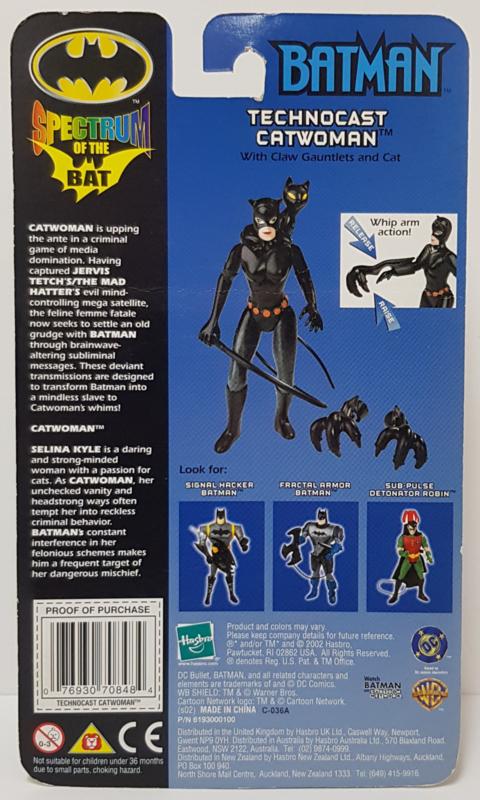 Batman Spectrum of the bat - Technocast Catwoman