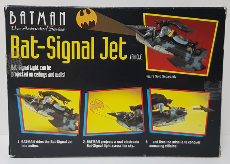 Batman The Animated Series - Bat-Signal Jet