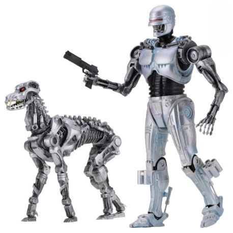 Robocop vs Terminator Endocop and Dog