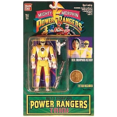 Power Rangers Auto Morphin Geel