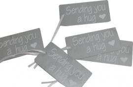 IJzeren tag Sending you a hug