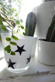 Raamsticker sterren