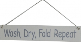 Bord Wash, Dry, Fold Repeat