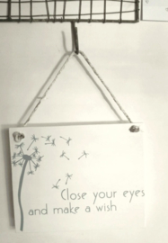"Bordje ""Close you eyes"""
