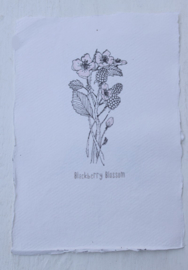 Kaart A5- Blackberry Blossom