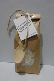 Paperbag badgrind wit