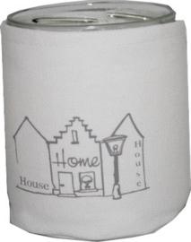"""Windlicht """"House - Home"""""""