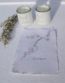 Kaart A5- Cherry Blossom