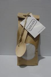 Paperbag badzand grijs