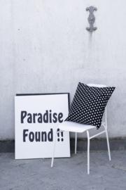 Canvaslijst Paradise Found