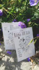 Sachet bloemenzaad Bloemen voor Bijen wit