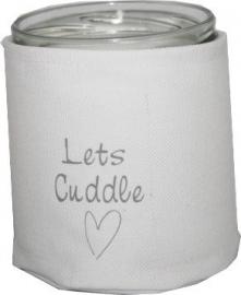 Windlicht  Let's Cuddle
