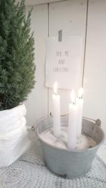 Kaart A5 You, me and Christmas