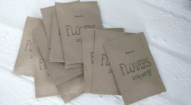 Sachet bloemenzaad Happiness naturel