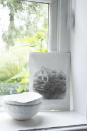 Geursachet Craft  A4 wit  #thuis