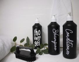 Fles voor Conditioner SL zwart