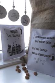 Geursachet Craft wit Welkom Sinterklaasje