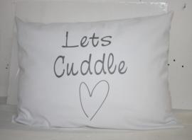 Kussen Let's Cuddle 40x60