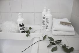 Fles voor Shampoo MF wit