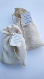 Fresh Linen - Geurbuidel JuteKatoen fijn