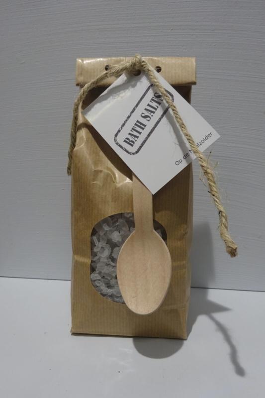 Paperbag badgrind grijs