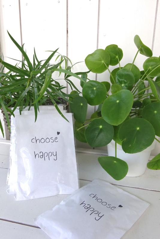 Geursachet Craft wit Choose Happy