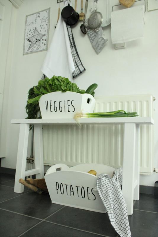 Opbergbak Potatoes