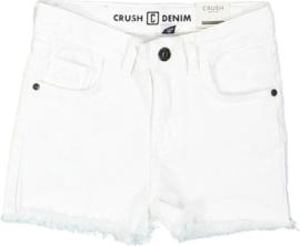 "Witte short ""Daisy"" Crush Denim"