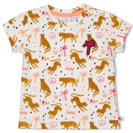 Shirt met print Feetje