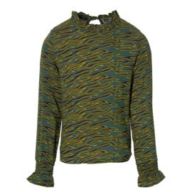 """Groene blouse """"Kedy"""" Levv"""
