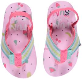 Roze slippers Quapi