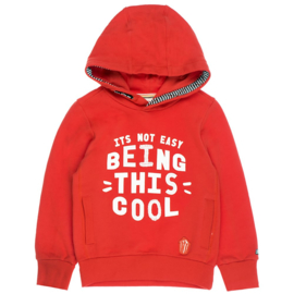 Roode hoodie Sturdy NIEUWE COLLECTIE