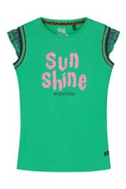 """Groen shirt """"Amber"""" Quapi NIEUWE COLLECTIE"""