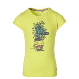 "Geel shirt ""Fauna"" Quapi NIEUWE COLLECTIE"