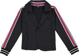 "Zwart tricot jasje ""Janah"" Crush Denim"