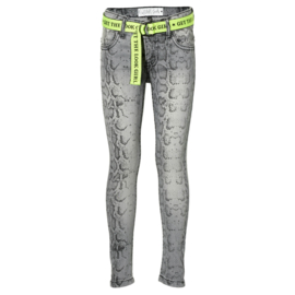 """Grijze jeans """"Delynn"""" Quapi"""