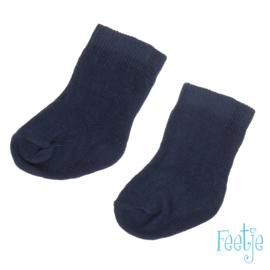 Donkerblauwe sokjes Feetje