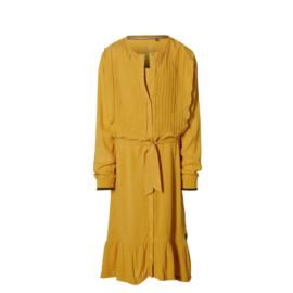 """Gele jurk """"Maaike"""" Levv NIEUWE COLLECTIE"""