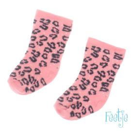 Roze kniekous Feetje
