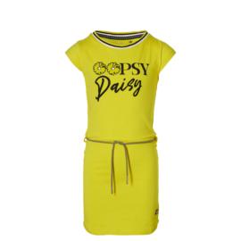 "Gele jurk ""Fab"" Quapi NIEUWE COLLECTIE"