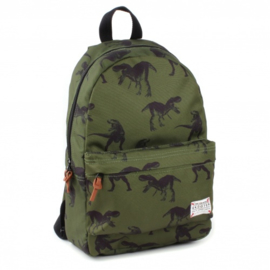 "Groene rugtas Skooter ""Animal Kingdom"""
